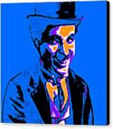 Charlie Chaplin 20130212m145 Canvas Print