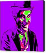Charlie Chaplin 20130212m78 Canvas Print