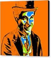 Charlie Chaplin 20130212p28 Canvas Print by Wingsdomain Art and Photography