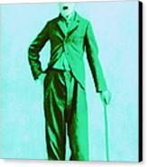 Charlie Chaplin The Tramp 20130216m150 Canvas Print