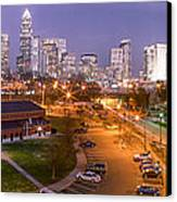 Charlotte Blue Hour  Canvas Print by Abe Pacana