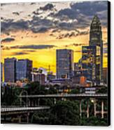 Charlotte Dusk Canvas Print by Chris Austin