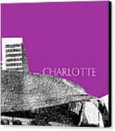 Charlotte Nascar Hall Of Fame - Plum North Carolina Canvas Print