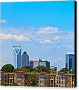 Charlotte Panorama Iv Canvas Print
