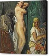 Chasseriau, Th�odore 1819-1856. The Canvas Print by Everett