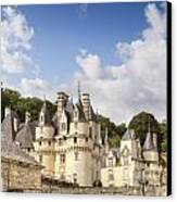 Chateau Usse Loire Valley France Canvas Print by Colin and Linda McKie