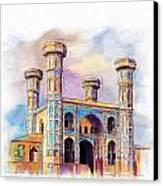 Chauburji Lahore Canvas Print