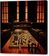Checkmate Canvas Print by Evelina Kremsdorf
