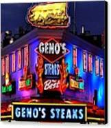 Cheesesteak Heaven Canvas Print by Benjamin Yeager