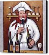 Chef 1 Canvas Print by John Zaccheo