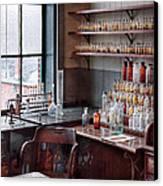 Chemist - Perfume Science  Canvas Print