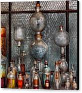 Chemist - The Apparatus Canvas Print by Mike Savad