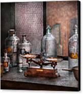 Chemist - The Art Of Measurement Canvas Print by Mike Savad