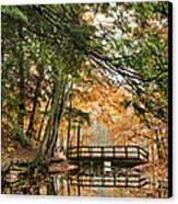 Chenango Valley State Park Canvas Print by Christina Rollo