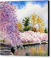 Cherry Blossoms Canvas Print by Shirley Braithwaite Hunt
