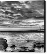 Chesapeake Splendor Bw Canvas Print by JC Findley