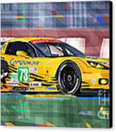 Chevrolet Corvette C6r Gte Pro Le Mans 24 2012 Canvas Print