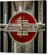 Chevy Emblem Canvas Print by Paul Freidlund