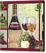 Chianti And Friends 2 Canvas Print