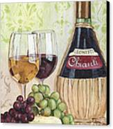 Chianti And Friends Canvas Print by Debbie DeWitt