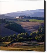 Chianti Hills In Tuscany Canvas Print by Mathew Lodge