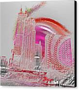 Chicago 1 Canvas Print by Soumya Bouchachi