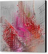 Chicago 2 Canvas Print by Soumya Bouchachi