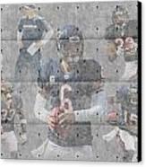 Chicago Bears Team Canvas Print by Joe Hamilton
