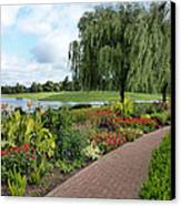 Chicago Botanical Gardens - 96 Canvas Print by Ely Arsha