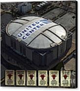 Chicago Bulls Banners Canvas Print