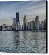 Chicago Coast Canvas Print by Donald Schwartz