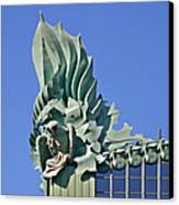 Chicago - Harold Washington Library Canvas Print by Christine Till