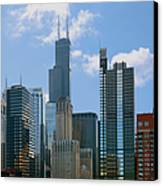 Chicago - It's Your Kind Of Town Canvas Print by Christine Till
