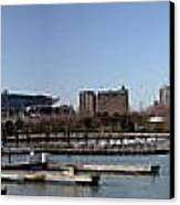 Chicago Lakefront - Soldier Field To Willis Tower Canvas Print by David Bearden