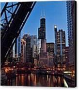 Chicago Loop Canvas Print by Jeff Lewis