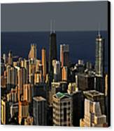 Chicago - That Famous Skyline Canvas Print by Christine Till