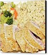 Chicken Cordon Blue  Canvas Print by Susan Leggett