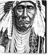 Chief-joseph Canvas Print