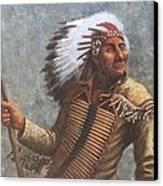Chief Knife Canvas Print