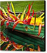 Chihuly Boat Canvas Print by Diana Powell