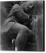 Child Statue Canvas Print by Jennifer Burley