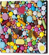 Children's Sweets Canvas Print by Tim Gainey
