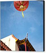 Chinese Lantern Canvas Print by Peter Tellone