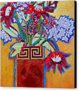 Chinese Vase Canvas Print by Diane Fine