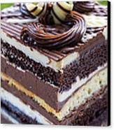 Chocolate Temptation Canvas Print by Edward Fielding