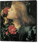 Choosing  Canvas Print by George Frederic Watts