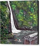 Chorro De Dona Juana Canvas Print