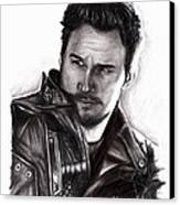 Chris Pratt 2 Canvas Print
