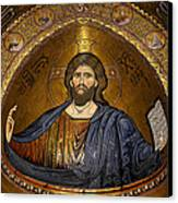 Christ Pantocrator Mosaic Canvas Print by RicardMN Photography