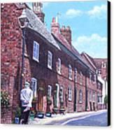 Christchurch Church Lane Canvas Print